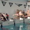 Уверенная победа в соревнованиях по плаванию