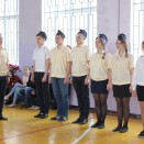 Конкурс смотра строя и песни «Аты-баты, шли солдаты!»