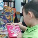 Ученики Ресурсного центра записались в библиотеку.