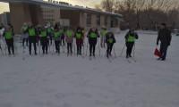 Массовая лыжная гонка, посвященная «Лыжне России — 2021»