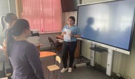Завершился демонстрационный экзамен по стандартам WSR в рамках промежуточной аттестации  по компетенции: «Дошкольное воспитание»