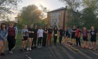Турнир по волейболу среди студентов, проживающих в общежитии