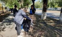 «Студенты педколледжа — за чистый город!!!»