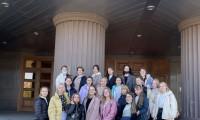 Студенты  посетили спектакль «Простить себя»